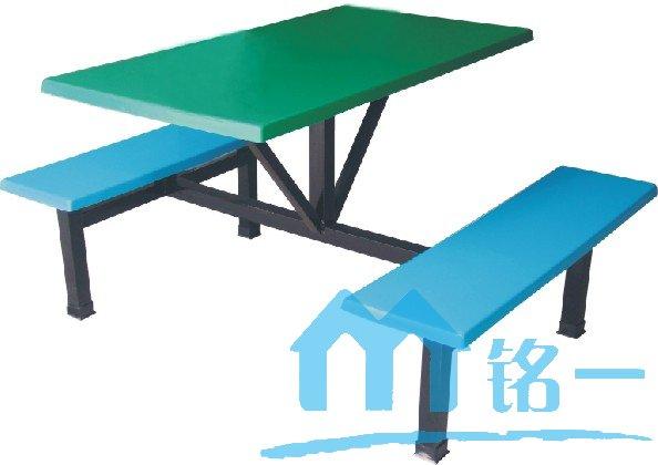 玻璃钢条凳四连体